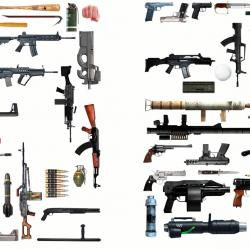 Открыть все оружие GTA 5 онлайн пк