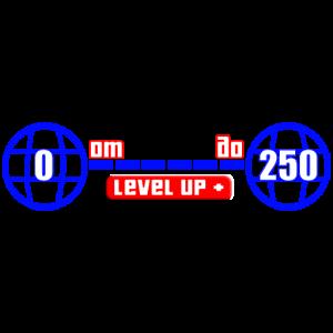 Уровень от 0 до 250 GTA 5 ПК