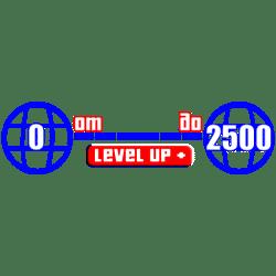 Уровень от 0 до 2500 GTA 5 ПК