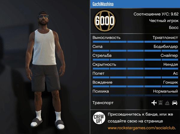 Прокачать все навыки персонажа GTA 5 онлайн для пк
